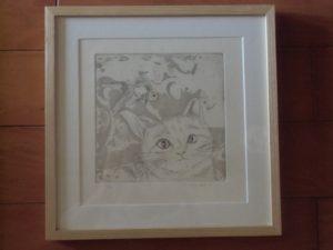 金魚日和(銅版画)